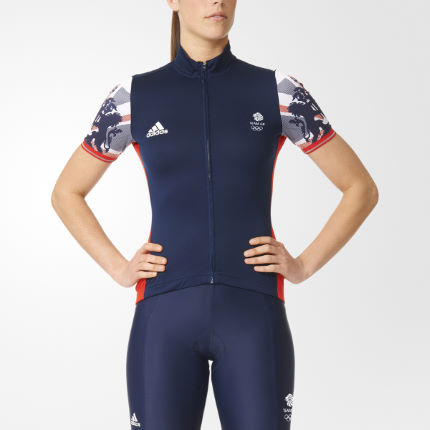Adidas Cycling Women's GB Replica Training Jersey