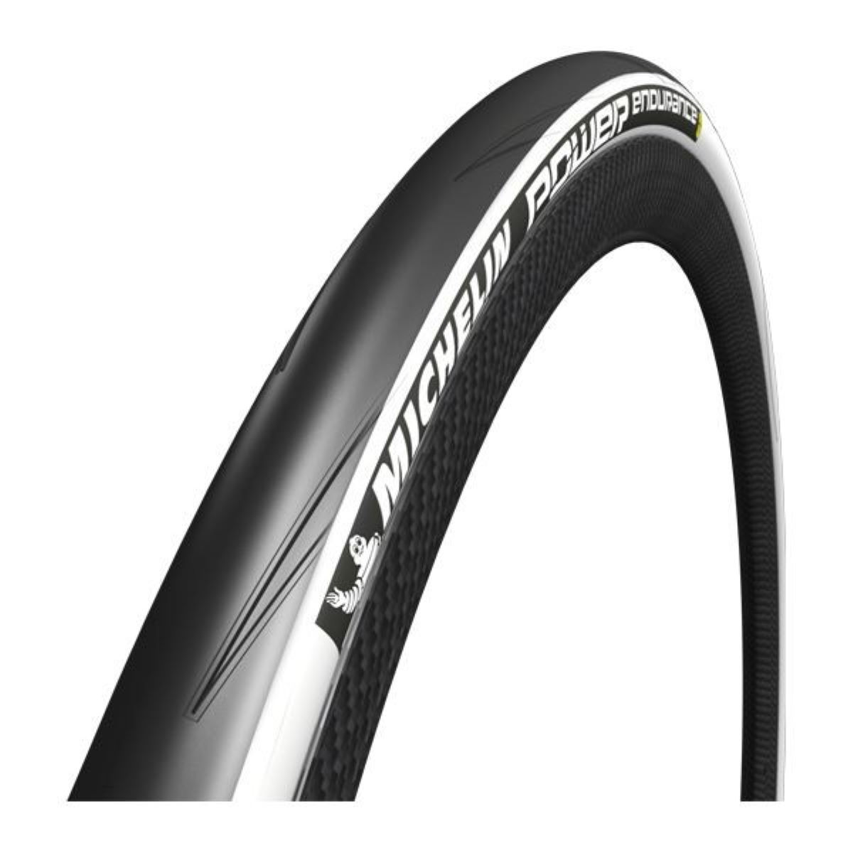 Pneu souple de route Michelin Power Endurance (700 x 23 c) - Blanc