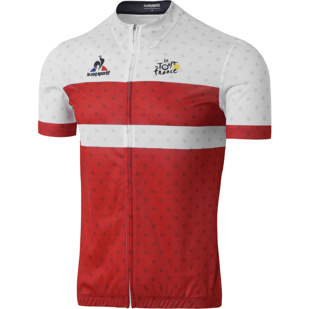 Maillot Le Coq Sportif TDF Dedicated - XS Rouge Maillots vélo à manches courtes