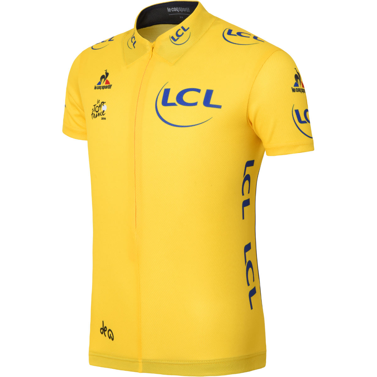 Le Coq Sportif Kids TDF Replica Leaders Yellow Jersey - 12 years