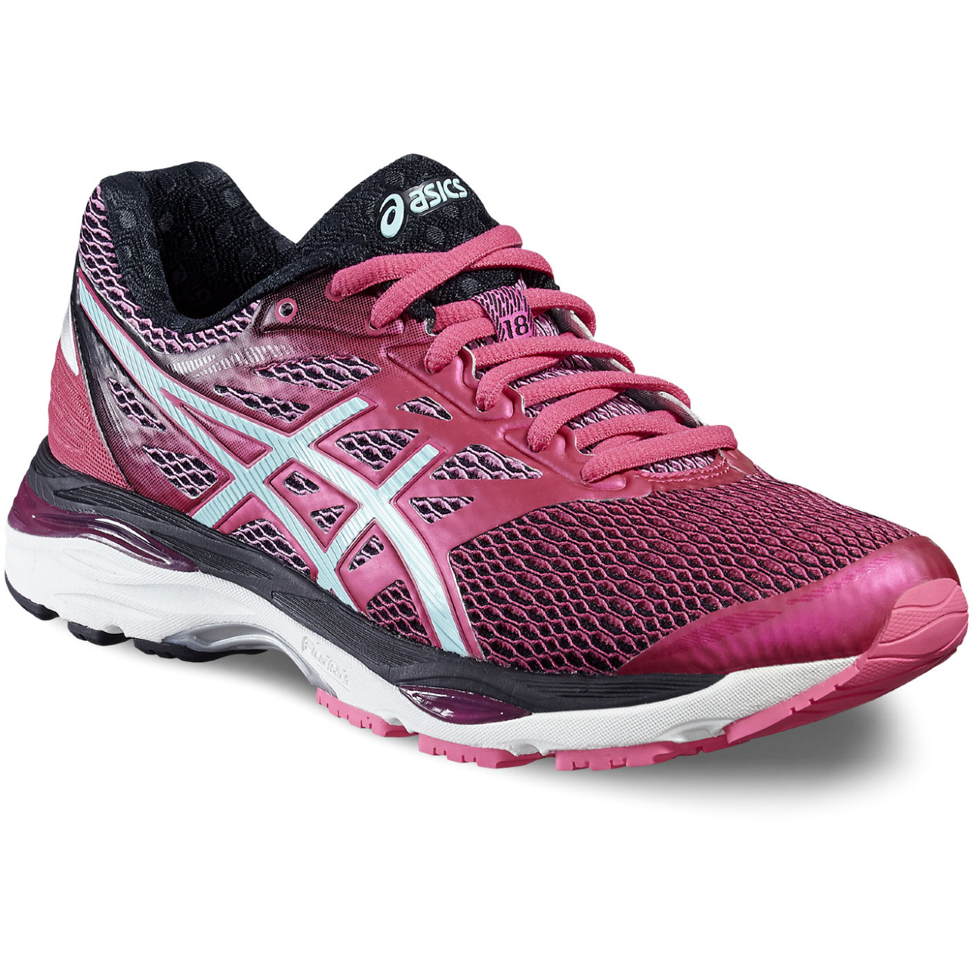 chaussures de running amorties asics women 39 s gel cumulus 18 shoes aw16 wiggle france. Black Bedroom Furniture Sets. Home Design Ideas