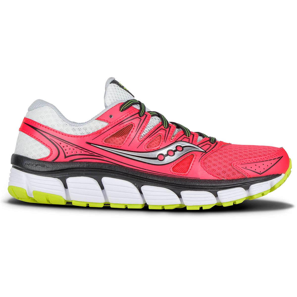 Saucony Womens Propel Vista Shoes (AW16)   Cushion Running Shoes