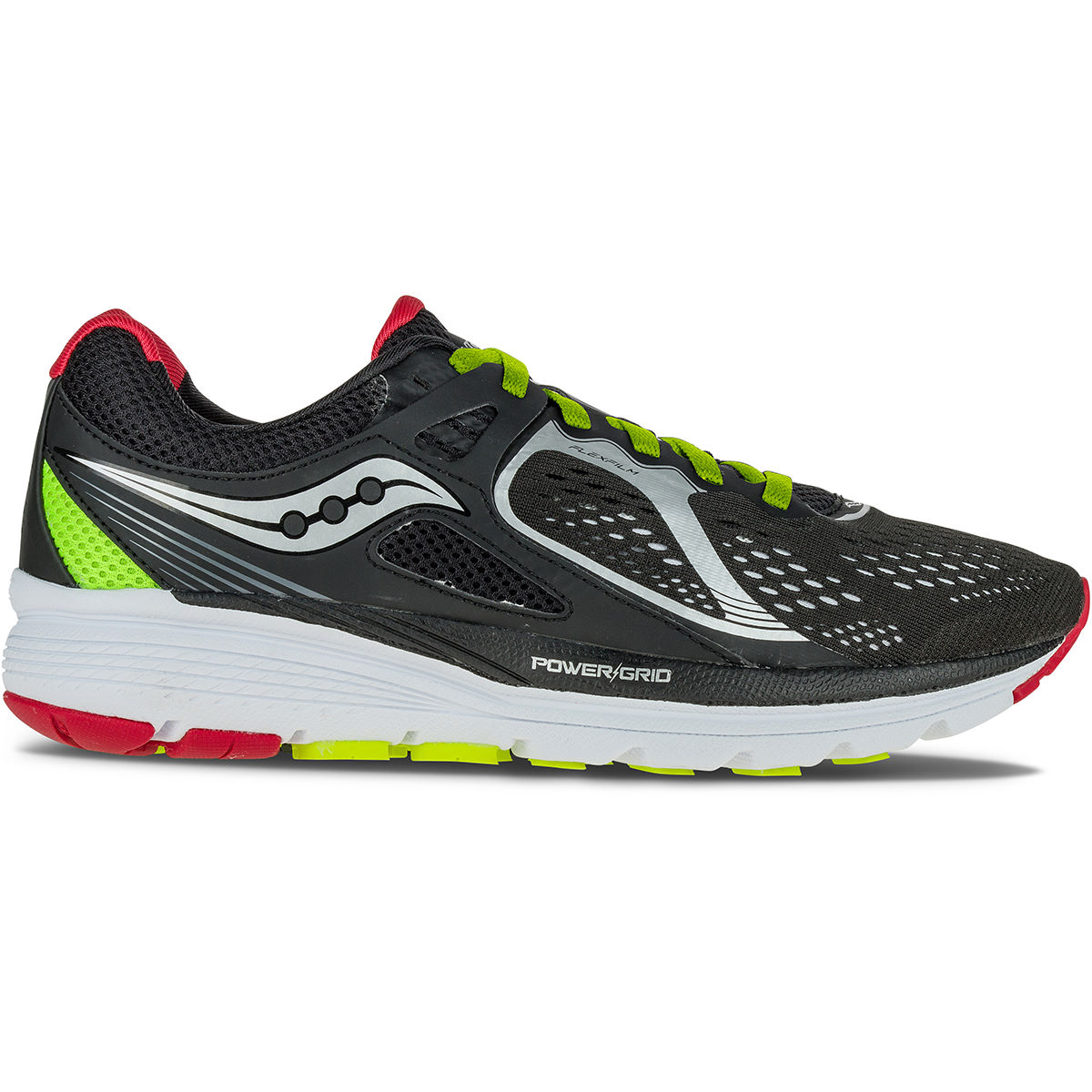 Chaussures Saucony Valor (AH16) - 10 UK Black/Red/Citron Chaussures de running stables