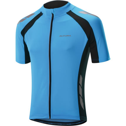 Altura Night Vision Commuter Blue Short Sleeve Jersey