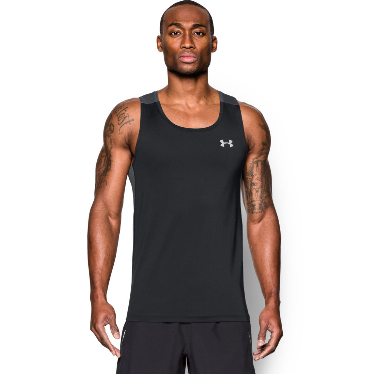 Under Armour Coolswitch Run Singlet (AW16) - Large Black