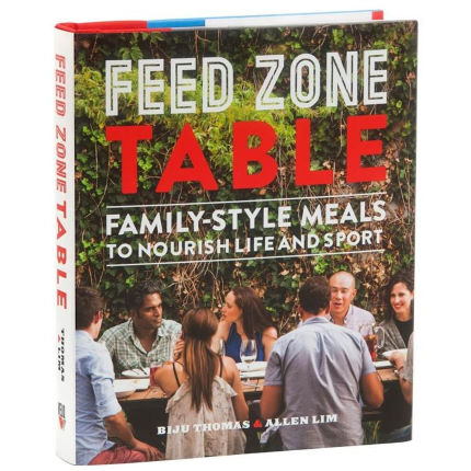 "Libro de recetas Cordee ""Feed Zone Table"" (en inglés)"