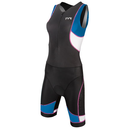 Body donna da triathlon TYR (zip anteriore)