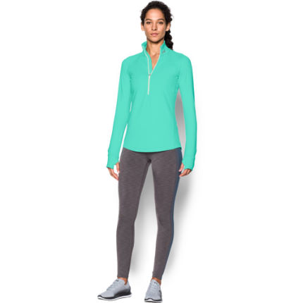 Under Armour Women's Coldgear Armour Top (1/2 Zip, AW16)