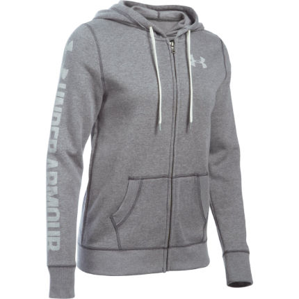 Under Armour Women's Favorite Fleece Hoody (Full Zipper, AW16)