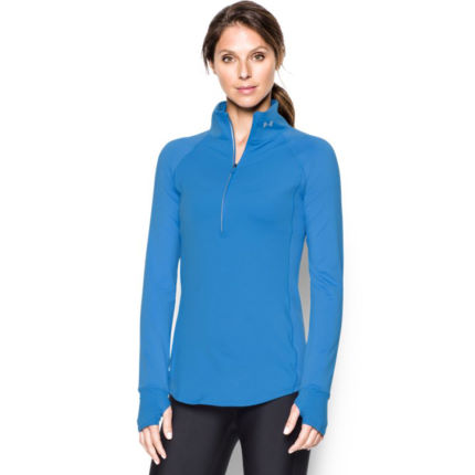 Maglia donna Under Armour Layered Up (zip a metà, aut/inverno16)