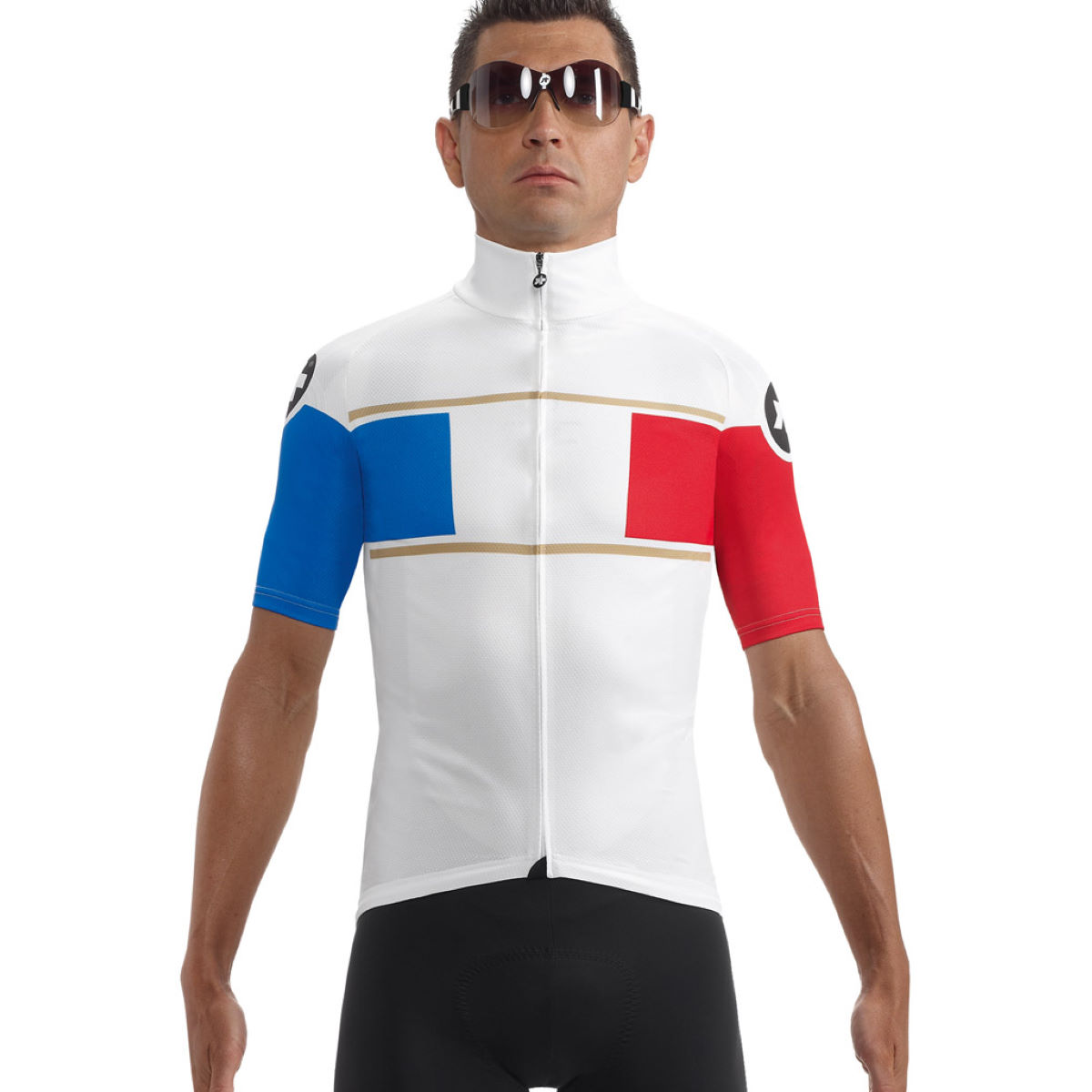 Maillot cycliste Assos SS.neoPro France - XS France Maillots