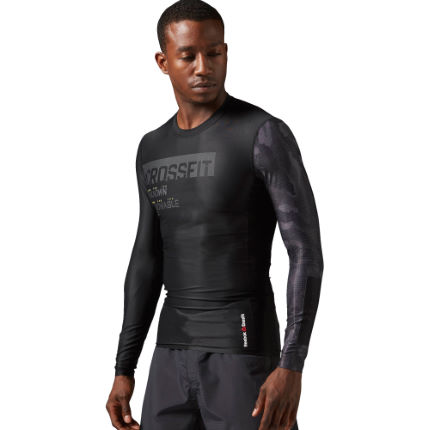 Reebok CrossFit Long Sleeve Compression Tee (AW16)