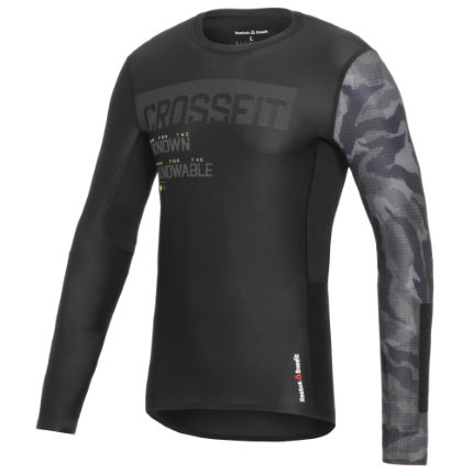 Maillot Reebok CrossFit Compression (manches longues, AH16)