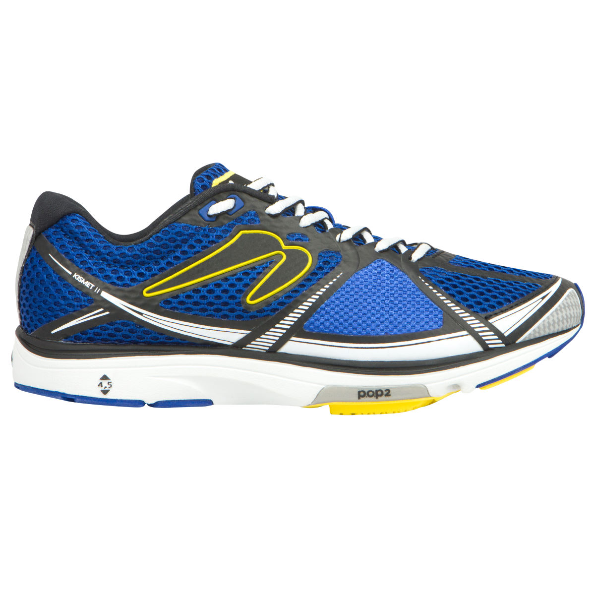 Chaussures Newton Running Kismet II (AH16) - 7 UK White/Yellow Chaussures de running amorties