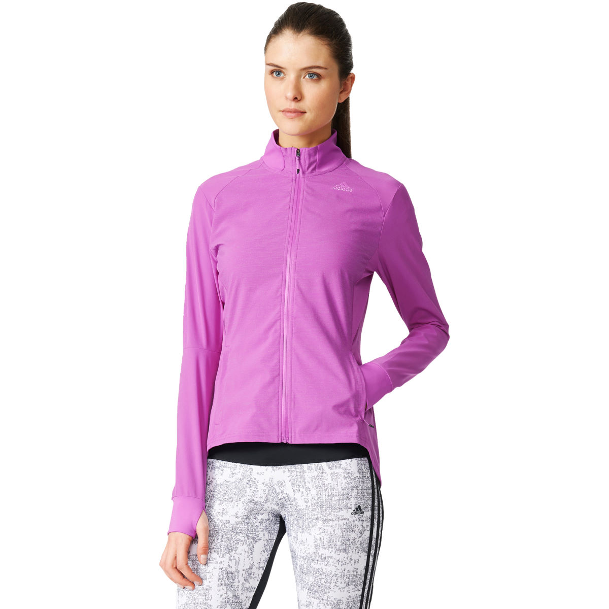 Adidas Womens Supernova Storm Jacket (AW16)   Running Windproof Jackets