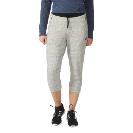 Adidas Women's Cotton Fleece 3/4 Pants