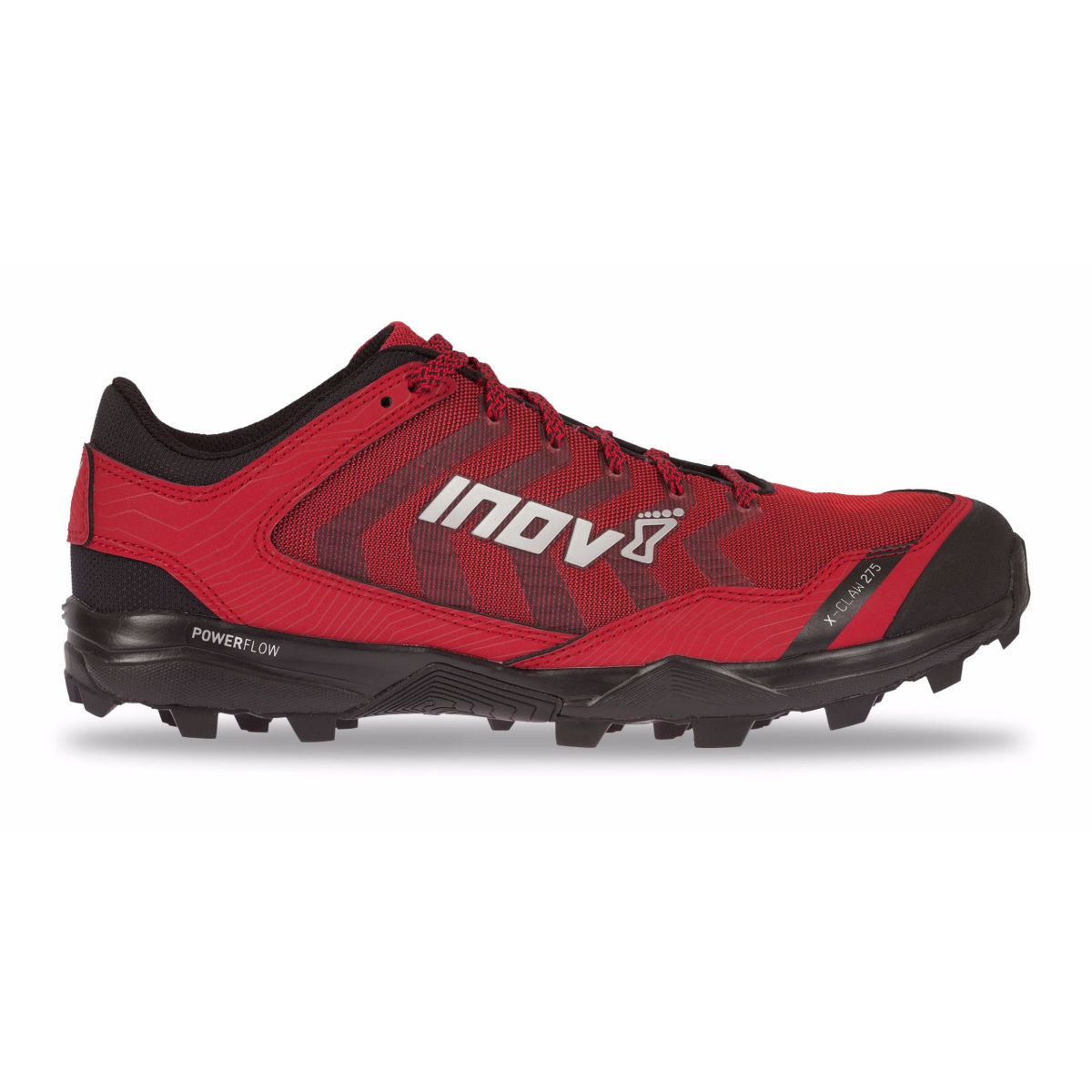 Chaussures Inov-8 X-Claw 275 - UK 10 RED/BLACK Chaussures de running trail