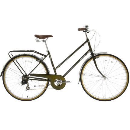 Bobbin Bramble Dark Olive Hybrid Bike