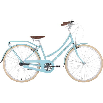 Bobbin Birdie 8 Speed Light Teal Hybrid Bike
