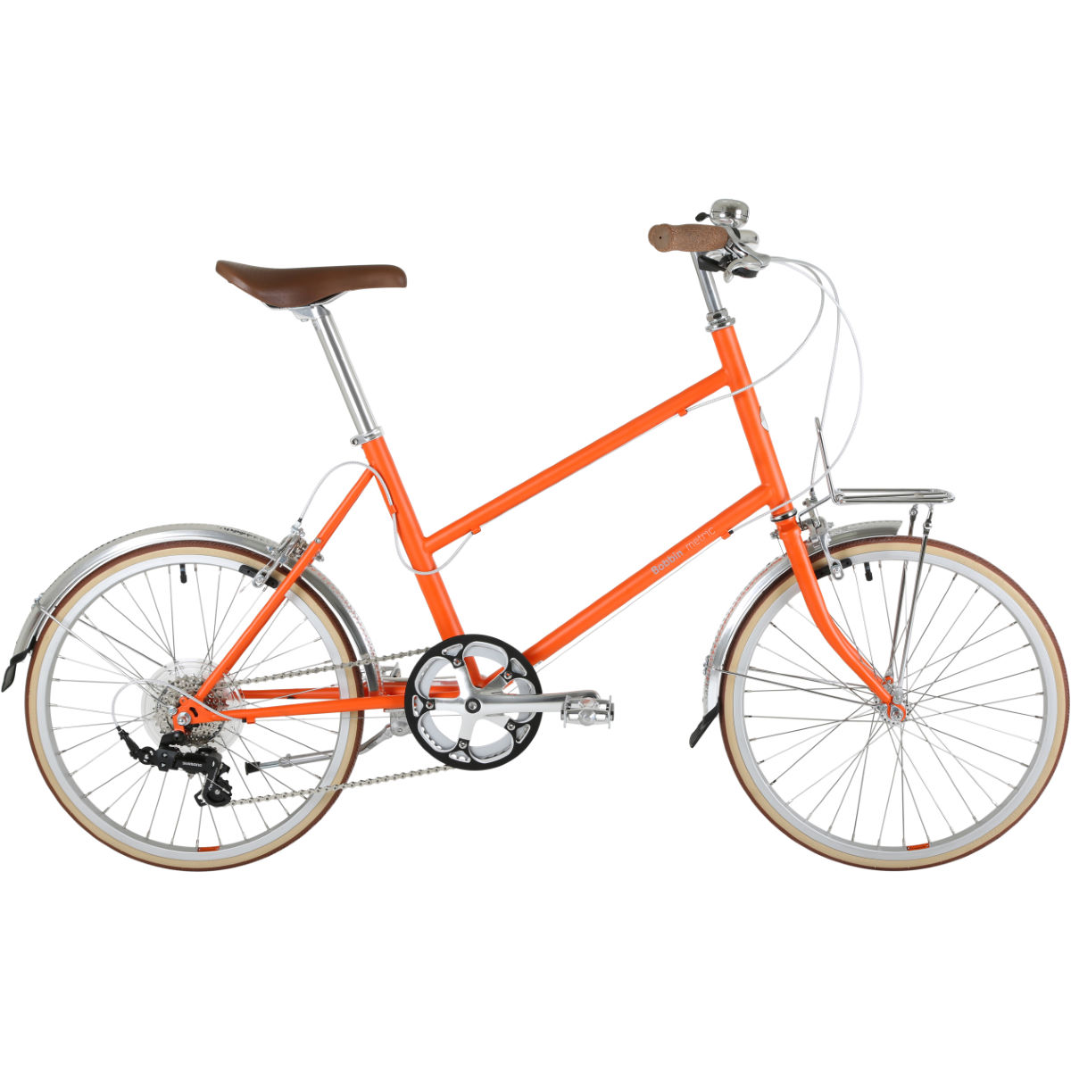 Vélo hybride Bobbin Metric (couleur charbon) - 42cm Orange