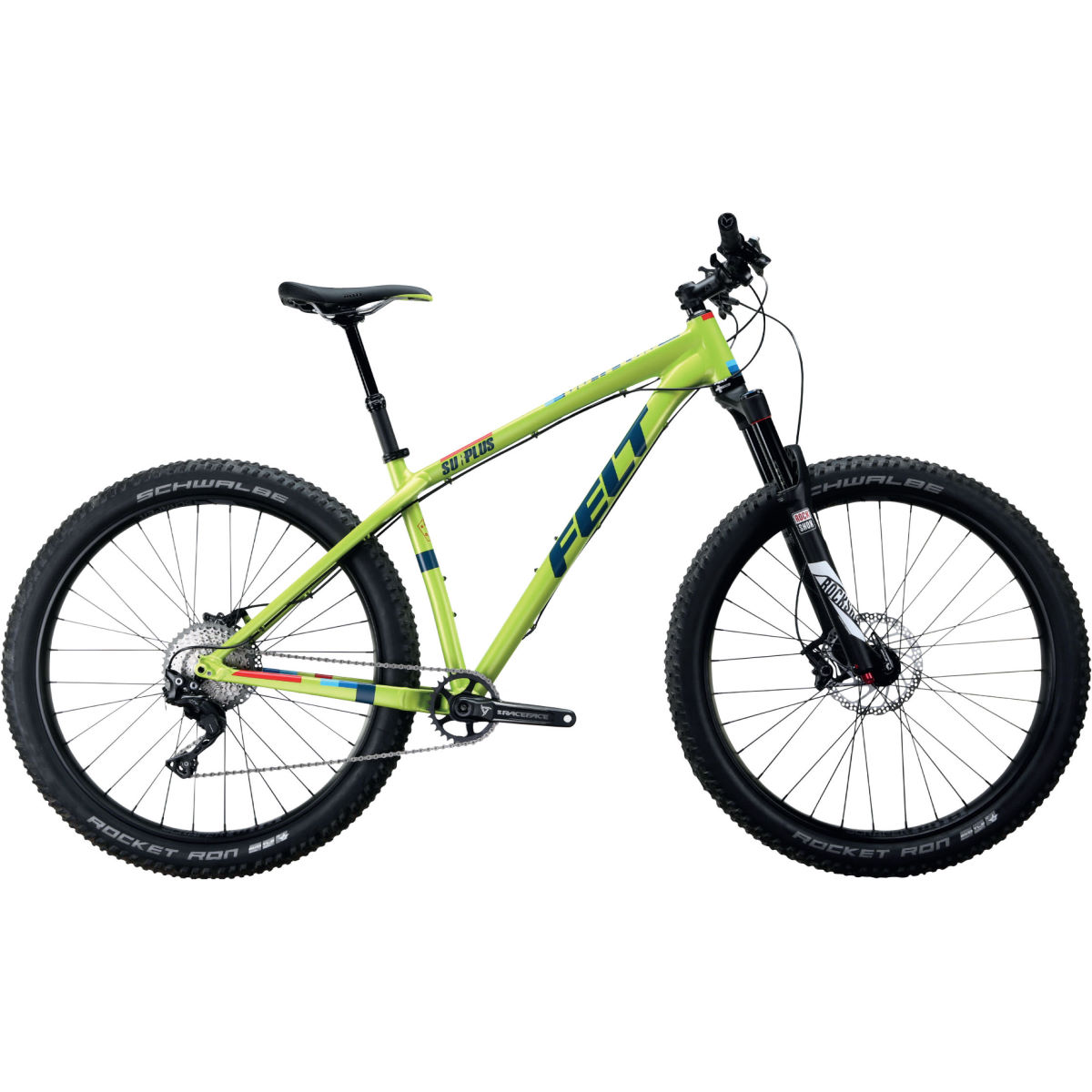 VTT Felt Surplus 10 - 16'' Stock Bike Vert VTT semi-rigides