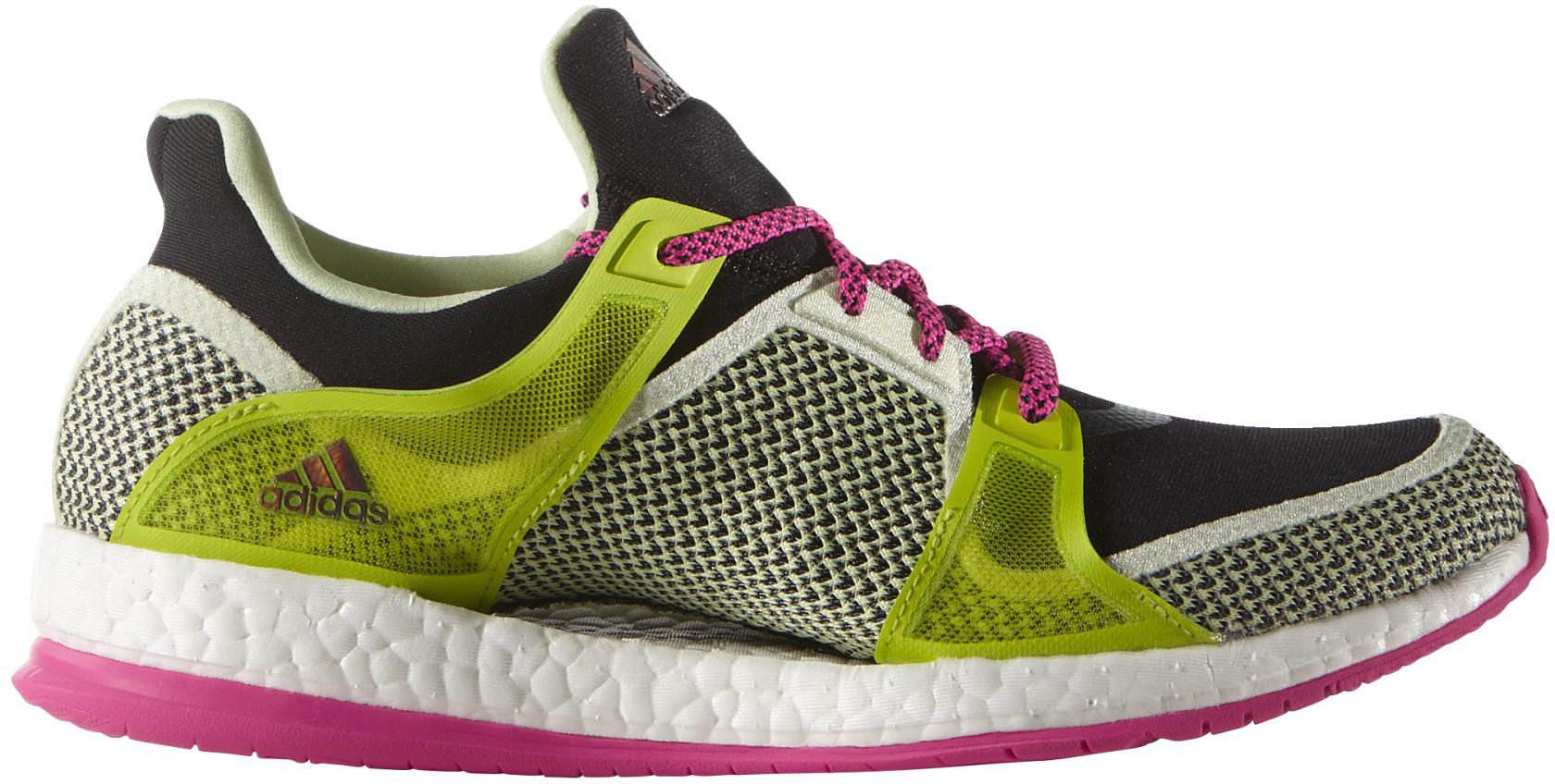 adidas boost women's black and pink