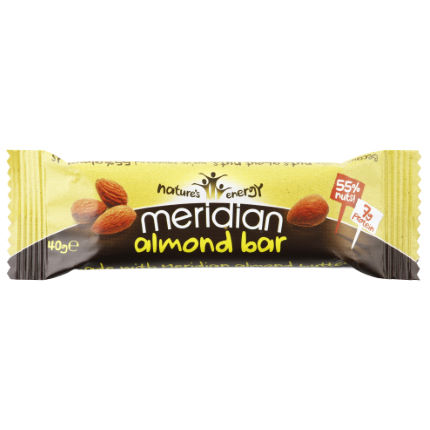 Meridian Almond Bar (18 x 40g)