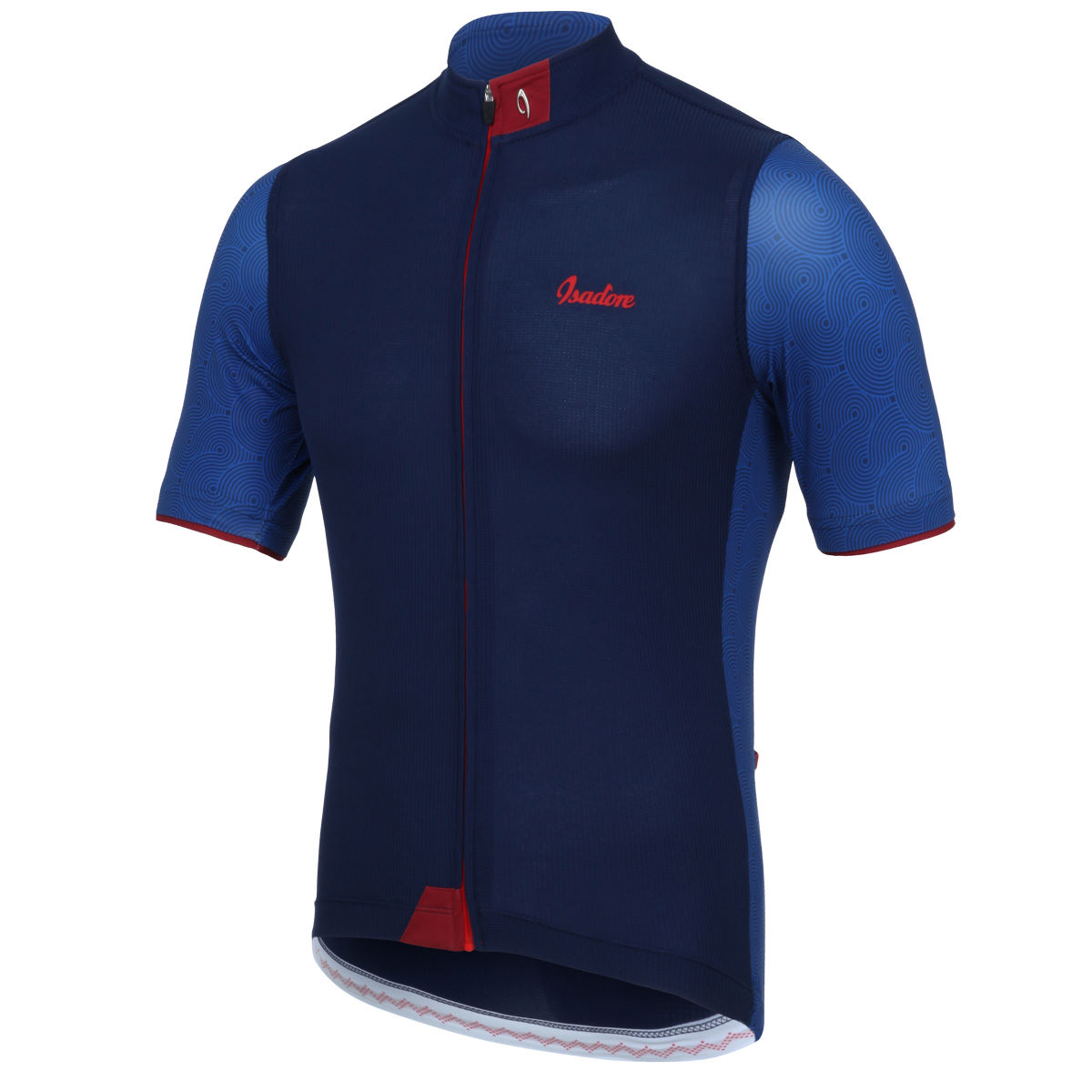 Maillot Isadore Albula Climbers - XL Blue/Red