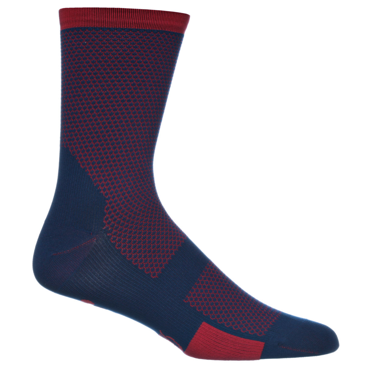 Chaussettes Isadore Albula Climbers - S/M Blue/Red Chaussettes vélo