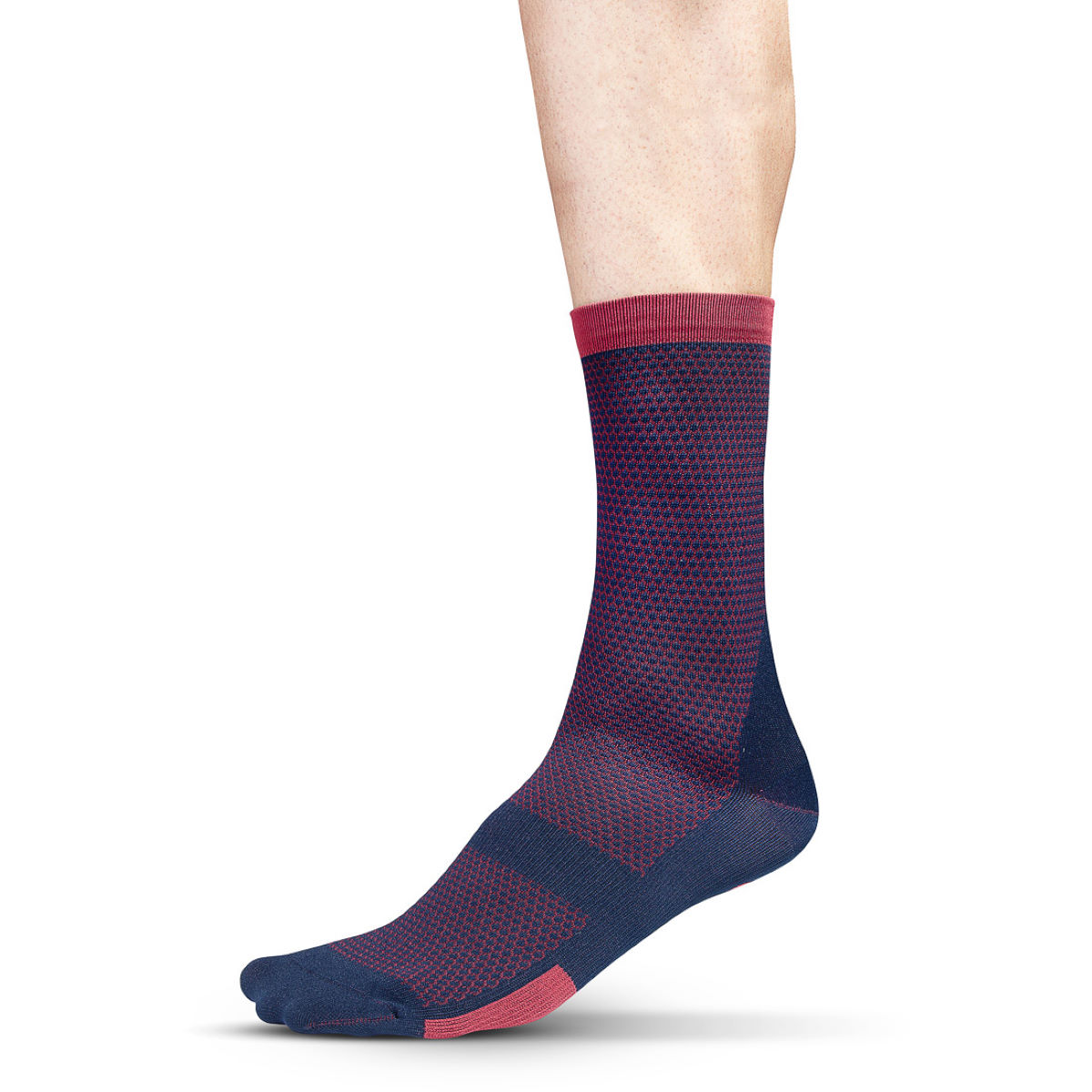 Chaussettes Isadore Albula Climbers - L/XL Blue/Red Chaussettes vélo