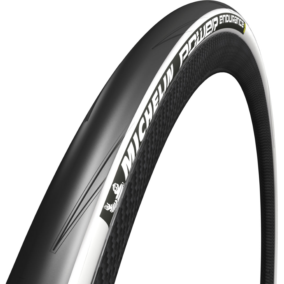 Pneu souple de route Michelin Power Endurance (700 x 25 c) - Blanc
