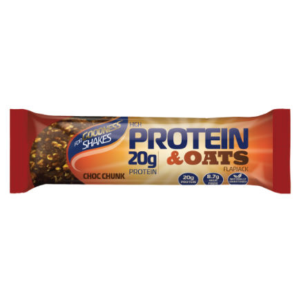 For Goodness Shakes - Protein and Havre Flapjack (12 x 75 g)