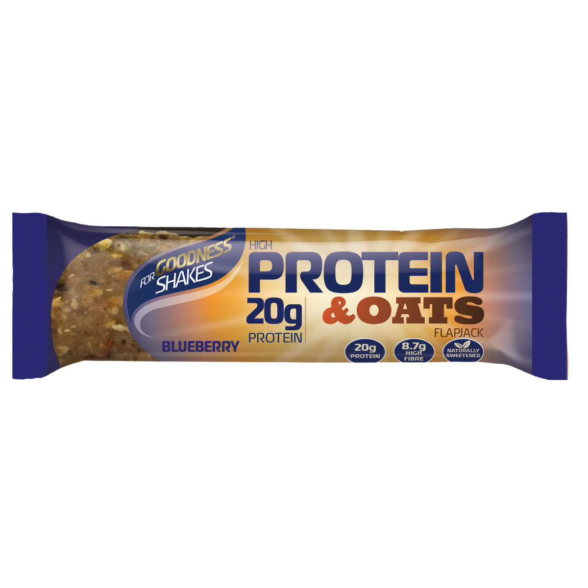 Barritas For Goodness Shakes proteínas y avena (12 x 75 g) - Barritas