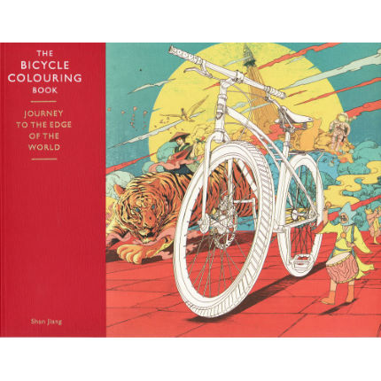 Libro para colorear Cordee Bicycle