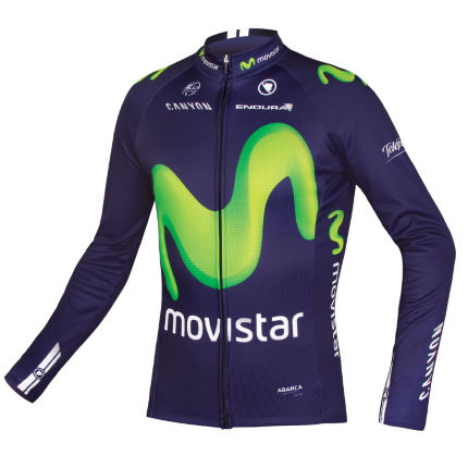 Endura Movistar Team Radtrikot (langarm)