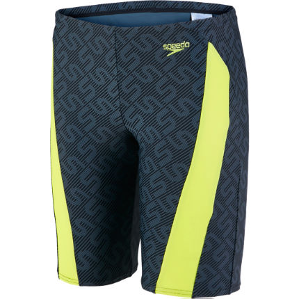 Speedo Monogram Allover Jammer Badbyxor (HV16) - Junior