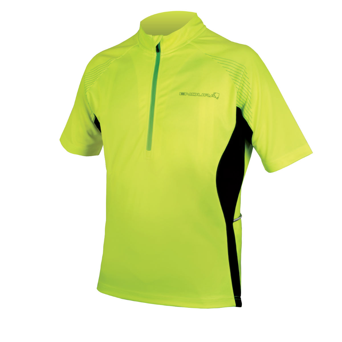 Maillot Endura Xtract II - S Jaune Maillots vélo à manches courtes