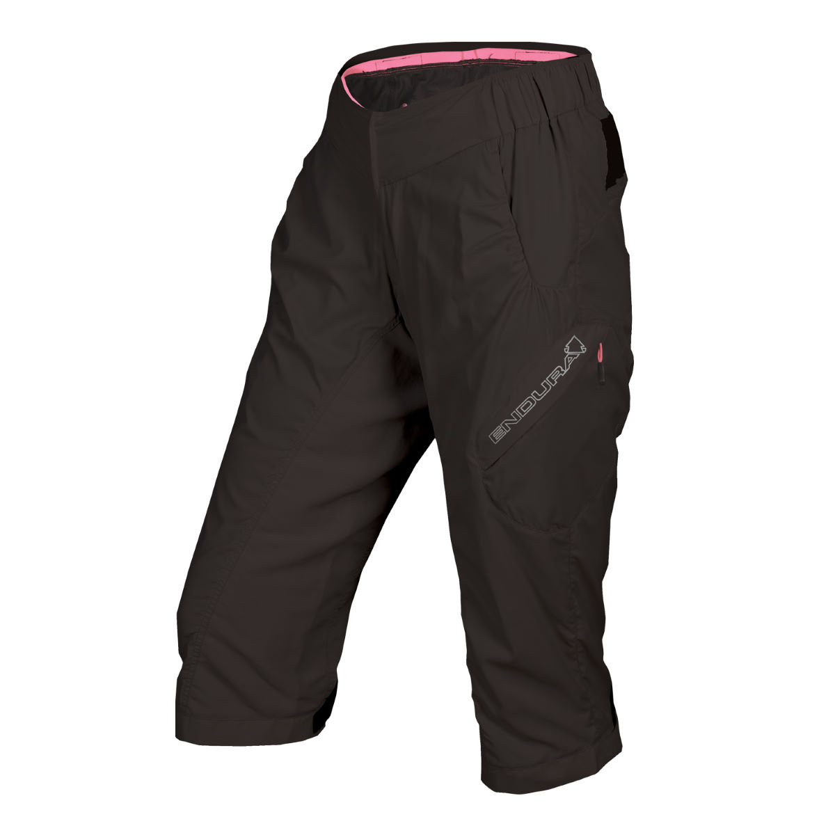 Short 3/4 Femme Endura Hummvee Lite - Medium Noir Shorts VTT