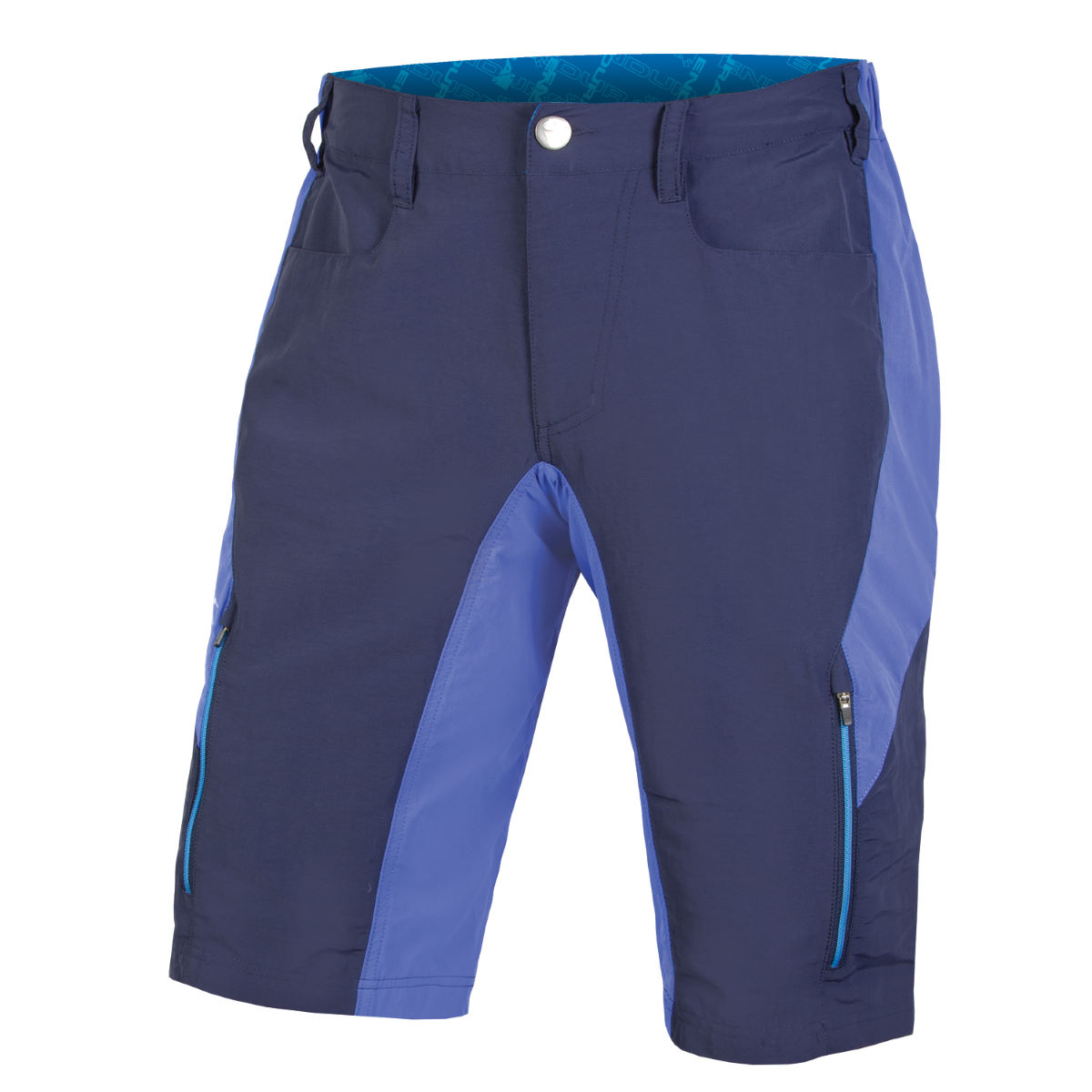 Short Endura SingleTrack III - Medium Bleu marine Shorts VTT