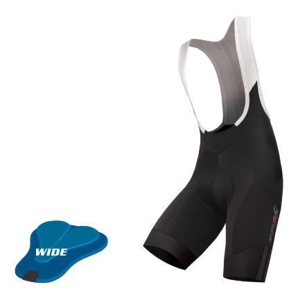 Endura Pro SL fietsbroek met bretels (kort, breed zeem)