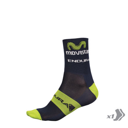 Endura Movistar Team Wettkampfsocken