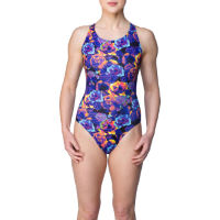 Maru Womens Heatmap Floral Pacer X Back (AW16)
