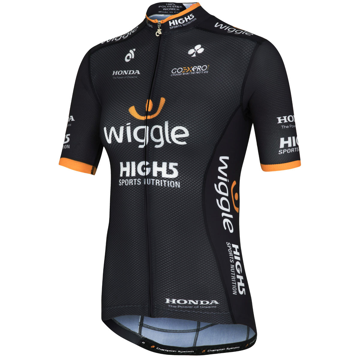 Maillot Femme Wiggle High5 Team Bella - Small Gris Maillots des équipes pro