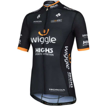 Wiggle High5 Team Bella Radtrikot Frauen (kurzarm)