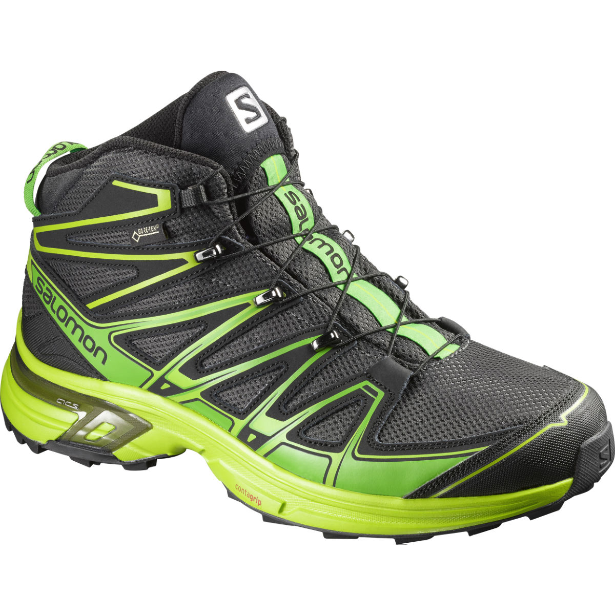 Chaussures Salomon X-Chase Mid GTX (AH16) - 7,5 UK Gris