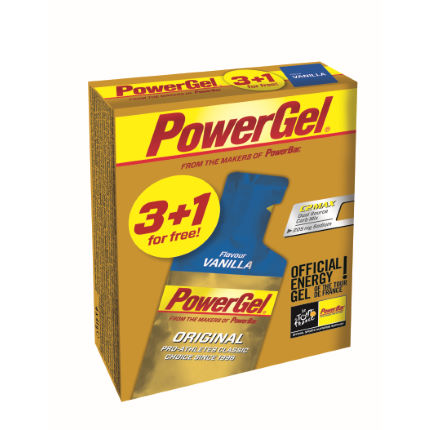 PowerBar Multipack PowerGel Vanilla (3+1 for free)