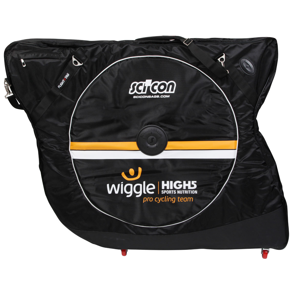 Housse de vélo Scicon Aerocomfort 2.0 TSA (team Wiggle High5) - Noir