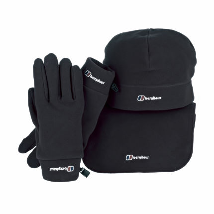 Berghaus Spectrum Scarf, Hat and Gloves Pack