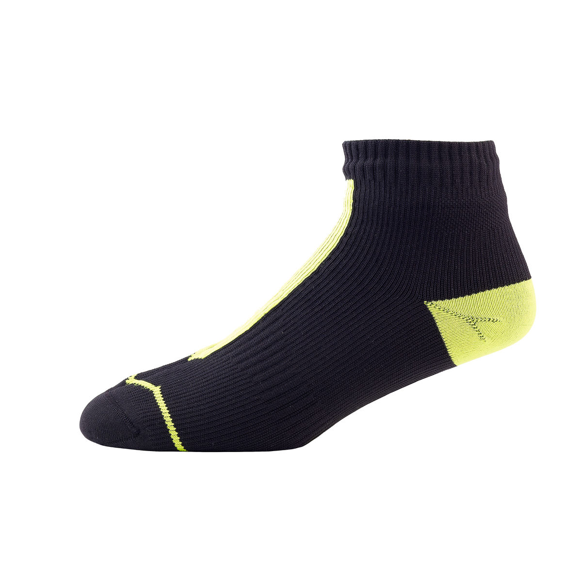 Chaussettes SealSkinz (route, basses) - M Black/Illuminous