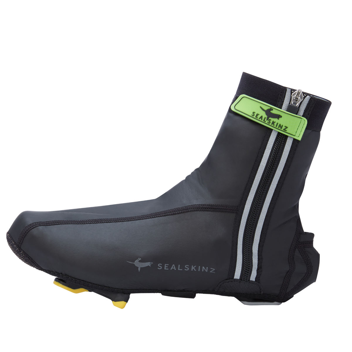 Couvre-chaussures SealSkinz Lightweight Halo (AH16) - S Noir/Rouge